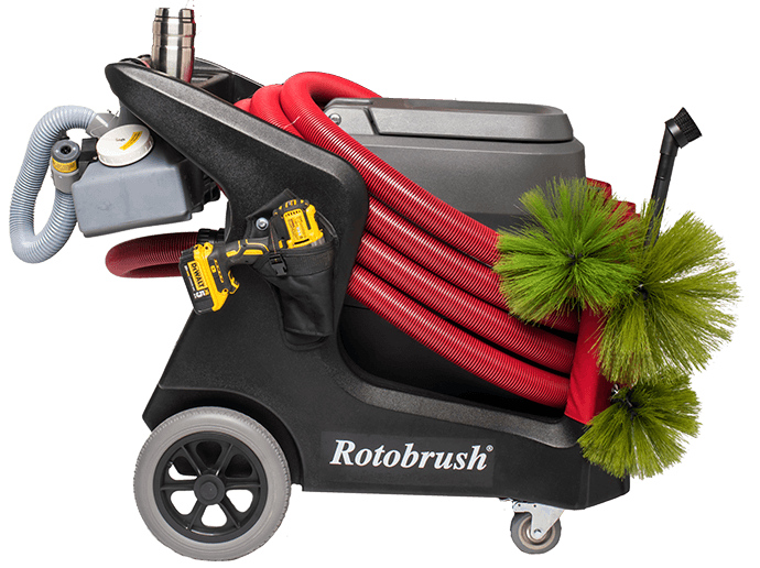 rotobrush air duct cleaning machine