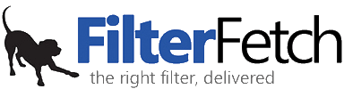 filterfetch logo with dog