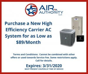AC Service Coupon for San Antonio