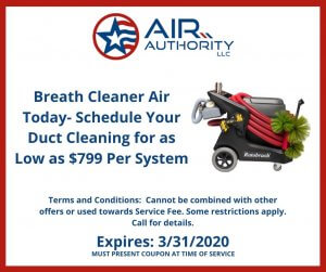 Duct cleaning coupon for San Antonio