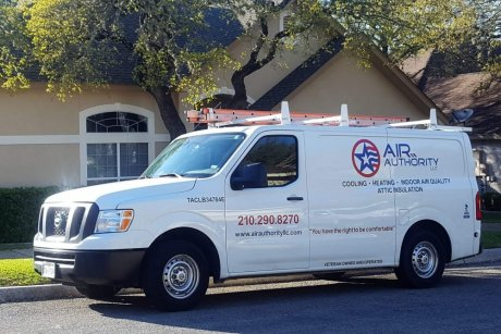 air authority ac and heat truck