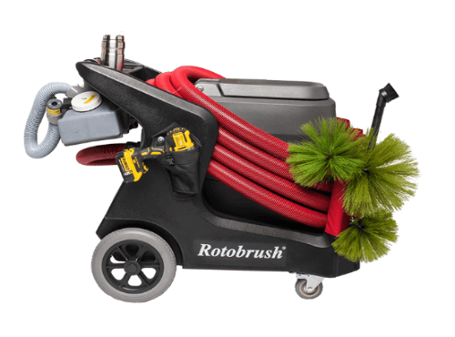 rotobrush for professional duct cleaning in san antonio