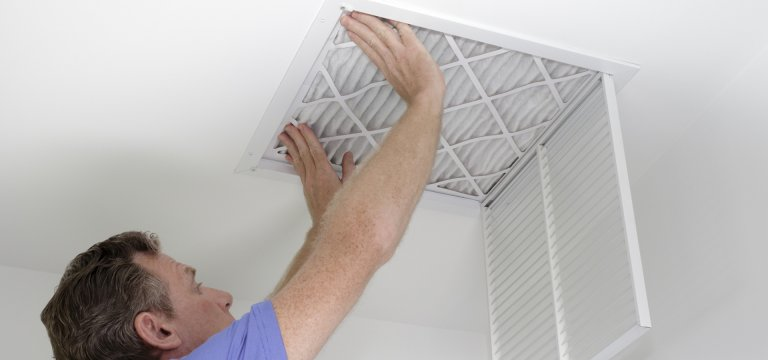 air pollutants in air filters in San Antonio